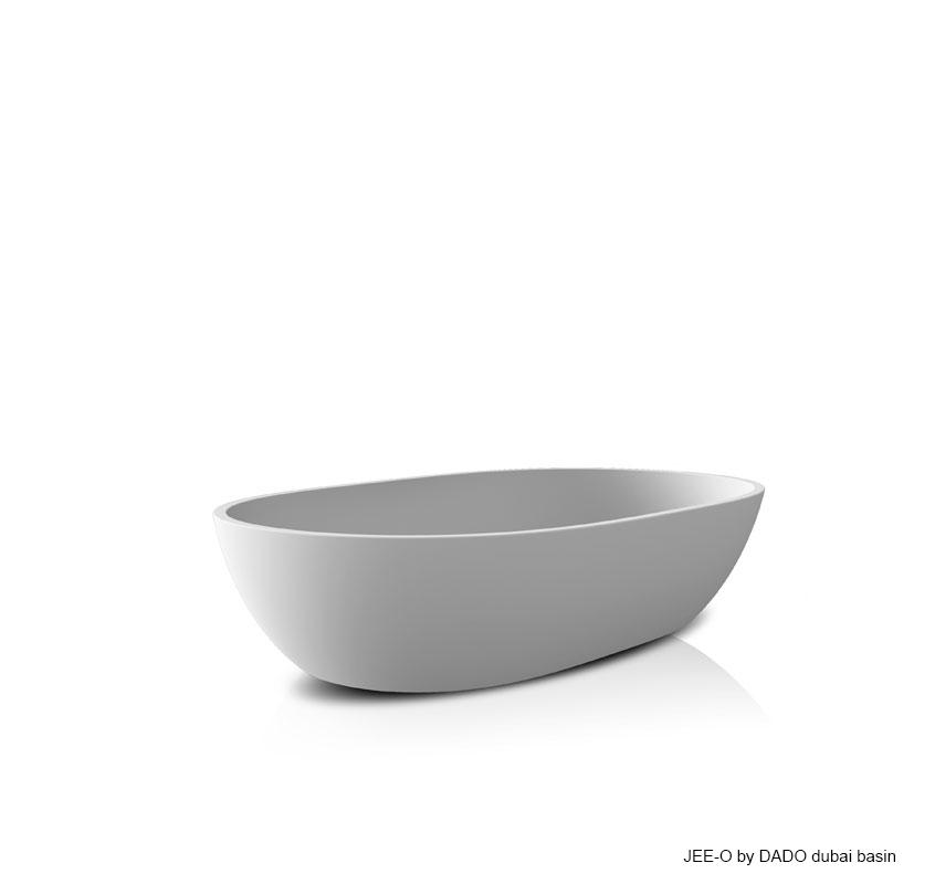 Umyvadlo na desku JEE-O dubai | bílá nebo černá Image