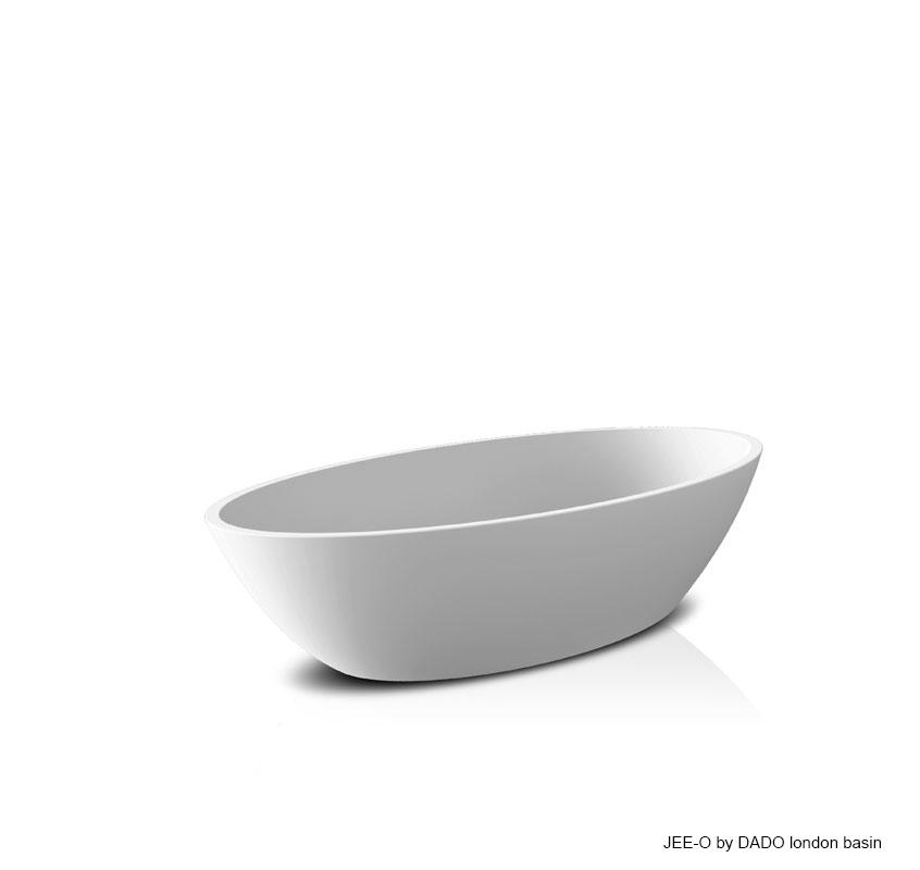 Umyvadlo na desku JEE-O london | bílá nebo černá Image