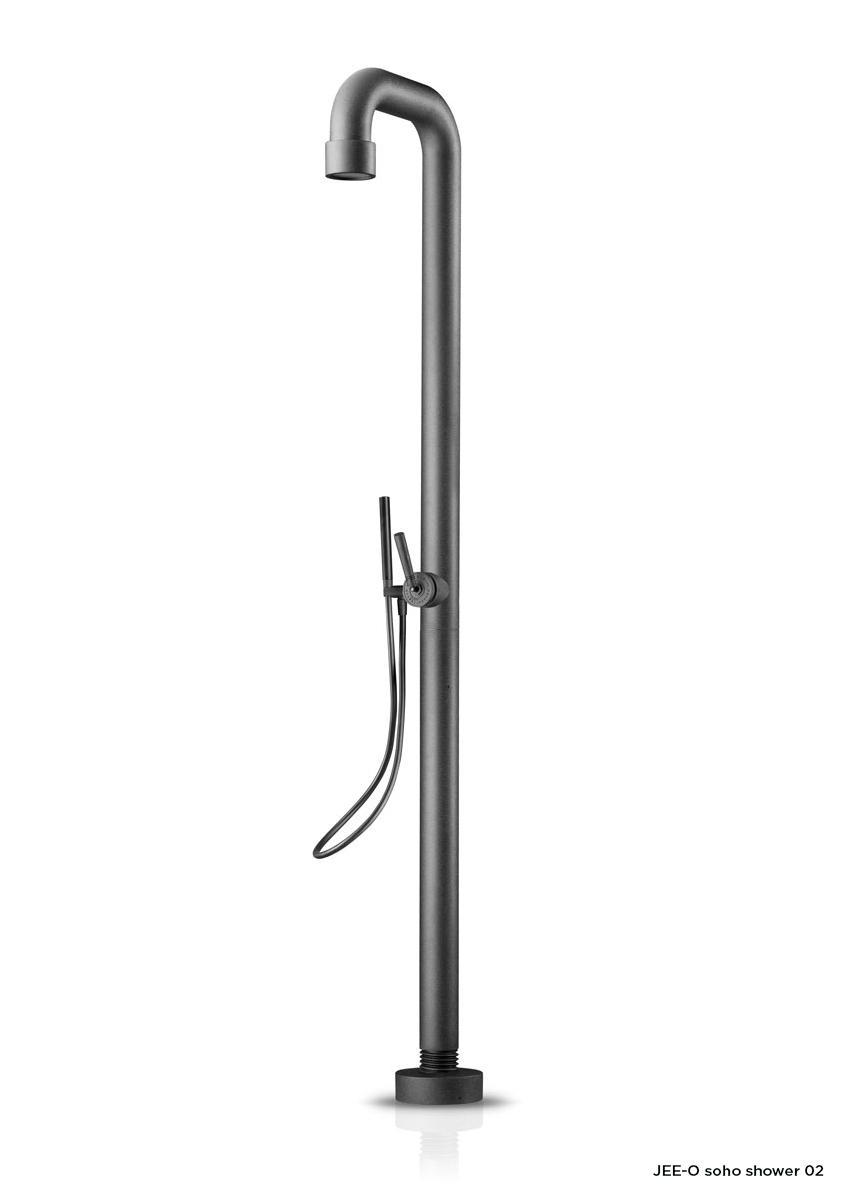 Sprcha JEE-O soho 02 | černý nebo broušený nerez Image